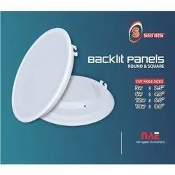 Backlit Panel Housing S Series Round