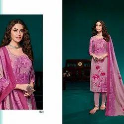 Digital Print Pashmina Suit