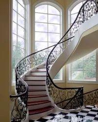 Royal Look  Designer Stairs Railing