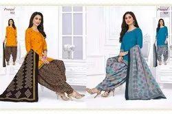 1 To 56 Half Pranjul Fashion Priyanka Vol 5 Readymade Cotton Patiyala Style Suit