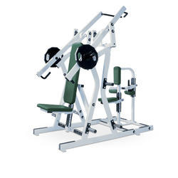灰色,绿色锤强度机,用于健身