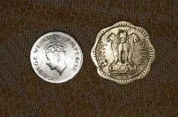 Silver Indian Coin