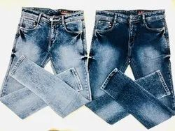 Plain Denim Men's Jeans