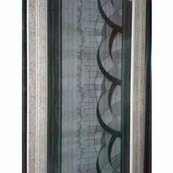 Glossy Decorative PVC Door