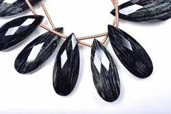 Natural Silver Leaf Jasper Semi Precious Stone
