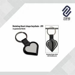 Promotional Rotating Metal Key Chain