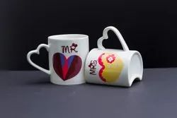 Printed Couple Coffee Mugs