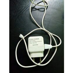 1 M White Euro Power Mobile Charger