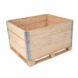 Wooden Pallet Collars With Lid