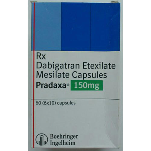 dabigatran etexilate mesilate capsules usage commercial clinical