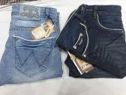 Plain Comfort Fit Mens Jeans, Waist Size: 32