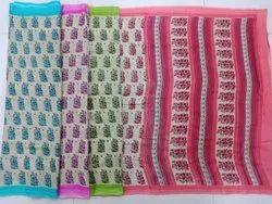 Ladies Fancy Printed Kota Silk Saree