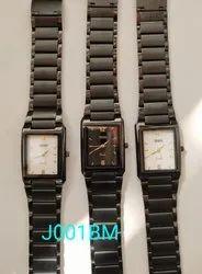 J001BM Mens Black Wrist Watch