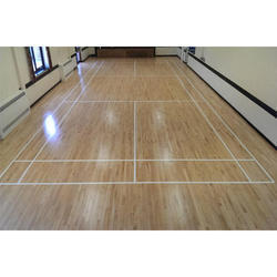 Oak Wood Sports Flooring