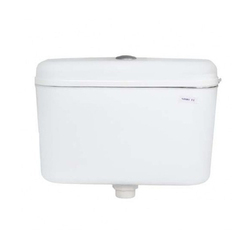 White Plastic Flush Tank, For Toilet
