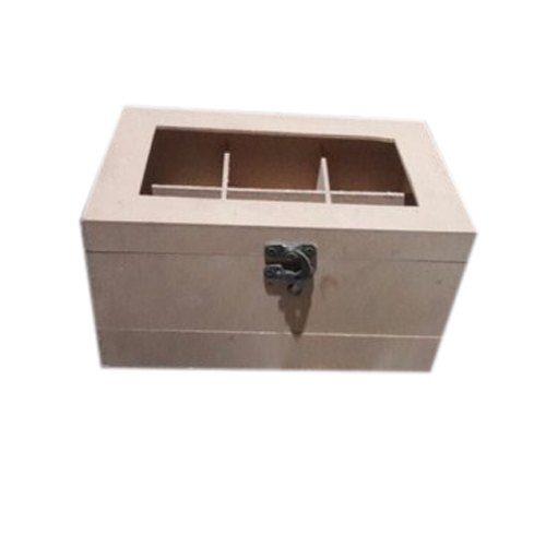 Polished Wooden Pen Box, For Gift, Rectangle