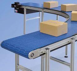 Modular Flat Plate Curve Conveyor