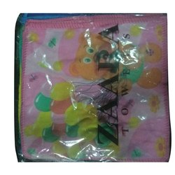 Printed Cotton Handkerchief, Hand Wash, Size: 11 X 11 Cm