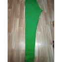Ladies Green Cotton Ankle Length Legging