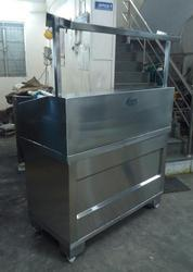 Stainless Steel Juice Stall