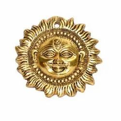 AJN-106 Brass Sun Wall Hanging