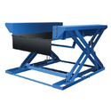 Electro Hydraulic Mild Steel Zero Level Lift Table, For Material Handling, Table Size (feet X Feet): 1250 X 1700 Mm