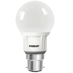 Plastic 7 W 7W Eveready LED Bulb, Base Type: B22, 20-50 Degree C