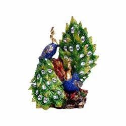 Pair Peacock Statue
