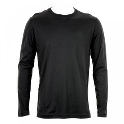 Black And Cotton And Men's Designer T-Shirt