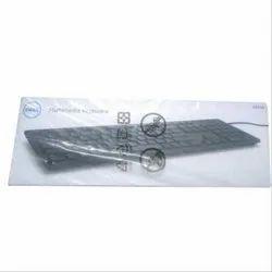 Wireless Black Dell Multimedia Keyboard, Model Number: KB216