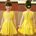 Kids Yellow Frock