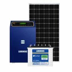 Luminous 7 kW off Grid Solar System