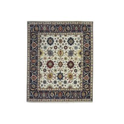 Hand Knotted Indian Serapi Rug And Carpet For Living Room