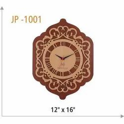 Analogue Polished Corporate Wooden Clock
