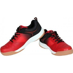 Red Nivia Hy-Court 2.0 Badminton Shoes, Size: 3-12