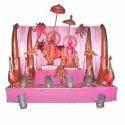 Fiber Radha Krishna Statues