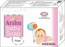 Arshu Baby Soap, Packaging Type: Box, Packaging Size: 75 Gm