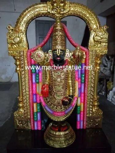 Marble Tirupati Balaji Statue