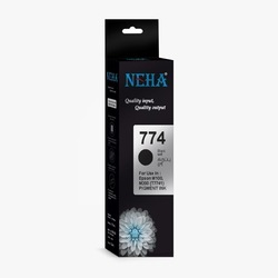 Neha 774 COMPATIBLE INK FOR USE IN EPSON M100,M105,M200,M205,L605,L655