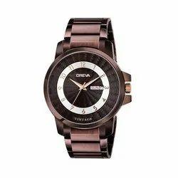 Oreva G-0154-BR-BR 43.5 mm Rose Color Metal Mens Watch