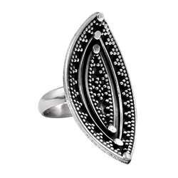 A Antique 925 Sterling Silver Ring