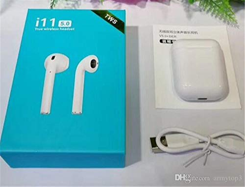 White Earbuds I11 Wireless Sensor Bluetooth Airpods Rs 300 Piece Id 20777186388