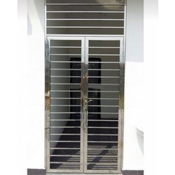 Stainless Steel Security Door, Single, Material Grade: SS202