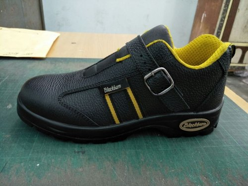Buff Leather Ladies Safety Shoes