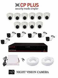 CP Plus 16 CH CCTV CAMERA SET UP