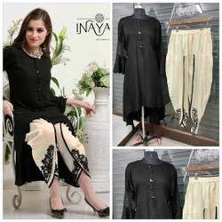 Regular Pramukh Pure Rayon Salwar Suit, Dry clean