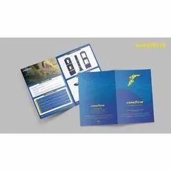 Paper Marketing Collateral Design Service, in India
