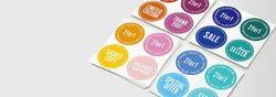 Coloured Sticker