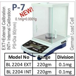 Analytical Weighing Balance 0.1mg