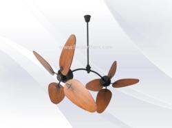 Designer ceiling fan in pune maharashtra india indiamart fanzart wood twinz contemporary ceiling fans fanzart mozeypictures Images